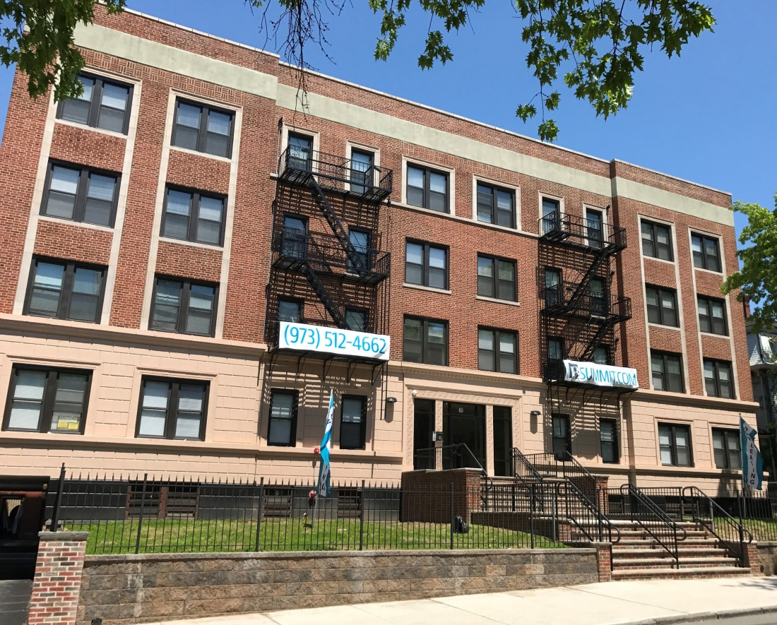 Newly Renovated Apartments East Orange NJ | 18 Summit Street Apartments - updated_exterior